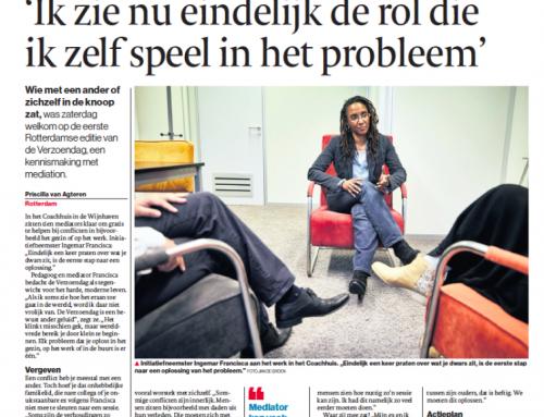 Ingemar Francisca met Verzoendag in Algemeen Dagblad
